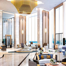 Icon siam magnolias bangkok condo for sale lobby