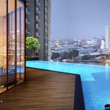Icon siam magnolias bangkok condo for sale swimming pool 3